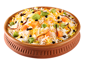 Mixed Vegetables Biryani